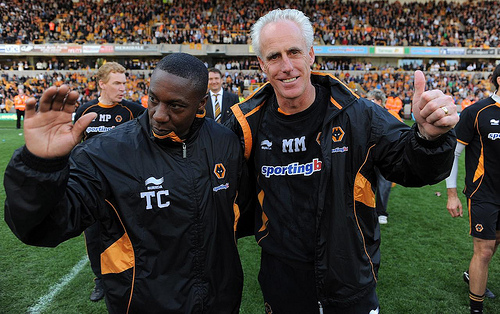 One in, one out: Terry Connor was out of his depth as a manager.