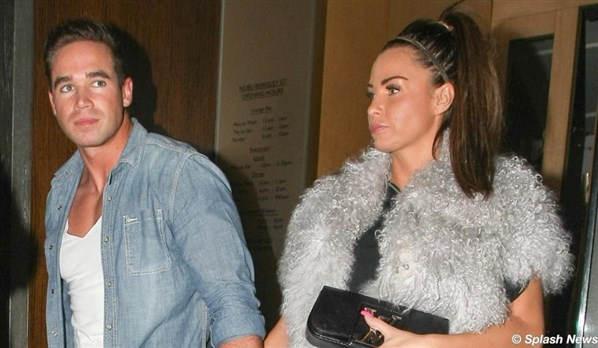 Forgiven, not forgotten: Katie Price's current beau, Kieran Hayler cheated on her earlier this year.