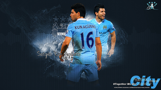 Aguero - a perfect strike partner for Aguero.