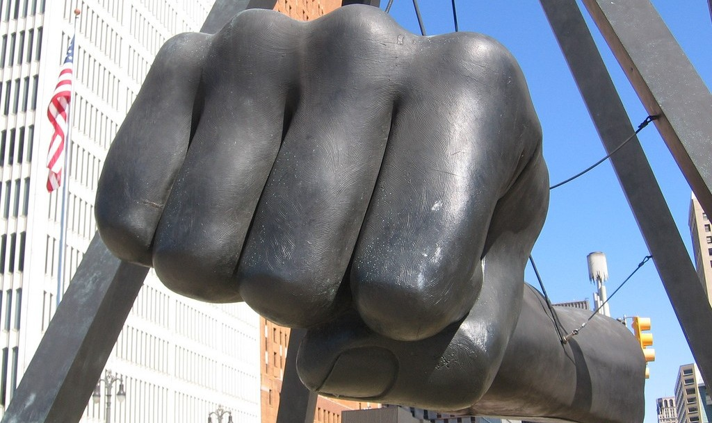 A tribute to Joe Louis in Detroit