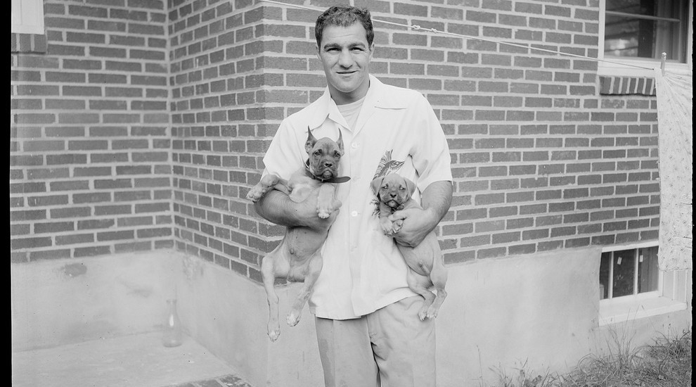 The great Rocky Marciano: 49-0 pro record remains the boxing benchmark.
