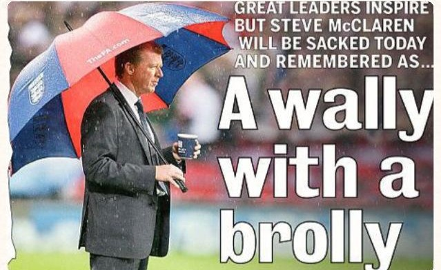 Wally with Brolly McClaren